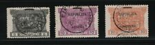 "Portugal - 1911-12 Azores India - ""Republica"" Overprint - Short Set - Used"