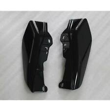 Black ABS Mid-Frame Air Deflectors For Harley CVO Electra Street Glide 2009-2016