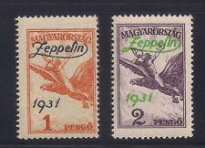 Hungary  1931  Sc # C24-25  MNH  XF  Scv.$160  (3-9010)