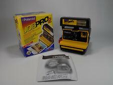 Polaroid Job Pro 2 Instant Camera uses 600 Film comes in Original Box- Untested.