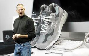 RARE Mens Original New Balance 992 Sz 15 Shoes Sneakers Steve Jobs Grey M992GL