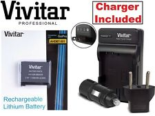 Lithium Ion AHDBT-501 Vivitar Battery & Rapid Charger for GoPro HD HERO5 Hero-5