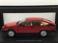 "AUTOart 1:18 Alfa Romeo ""Alfetta"" GTV 2.0 1980 Red Modell Nr: 70146"