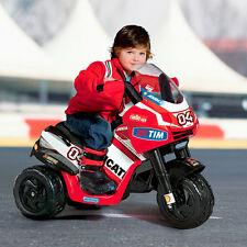 Ride-on three-wheeler vehicle 6V Ducati Desmosedici 2014 ED0919 Peg Perego