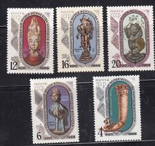 Russia 1969 Sc.#3634038 Treasures from State Museum set 5 stamps Cat.$4.25 Mnh