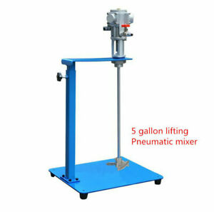 5 gallon lifting Pneumatic mixer Air Agitator Blender Stirrer Mixing Machine 60L