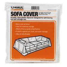 """UHaul Sofa Couch Loveseat Moving & Storage Clear Cover Up to 8' Length Fit 134"""""""