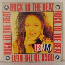 "Lisa M* – Rock To The Beat (Vinyl, 12"", MAXI 45 TOURS)"