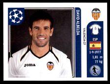 Panini Liga de Campeones 2011-2012 - David Albelda Valencia CF no. 301