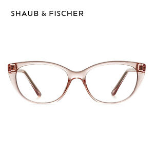 Women Cat Eye Pink Reading Glasses +0.50 to +6.00