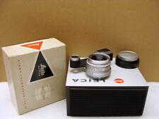 """Leitz Wetzlar - Leica Summaron-M 1:2.8/35mm mit Brille """"Sammlerstück"""" - OVP!"""