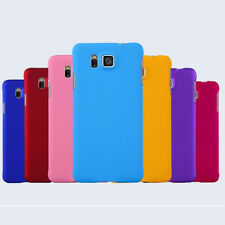 For Samsung Galaxy Alpha G8508S SM-G850F Rubberized Matte hard case back cover