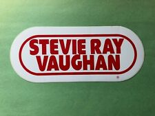 Vintage Stevie Ray Vaughan Wrif Sticker - Detroit Rock Radio Promo