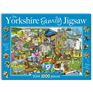 The Yorkshire Family 1000 piece Jigsaw, Gifted Stationery
