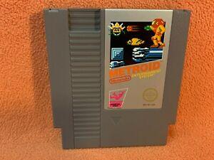 Metroid Nintendo NES Original Authentic Retro Classic Game!