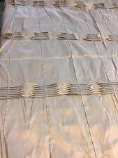Curtain Sample Rem Fabric Off Cut Blind Cushion Craft 128x109cm Silk
