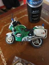 BMW MOTOR CYCLES MAISTO polizel police Germany SCALE 1:18