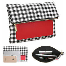 Aitbags Fashion Women Phone Wallet Evening Party Bag Clutch Red Foldable Purse
