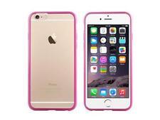 Housses et coques anti-chocs roses transparentes iPhone 6 pour téléphone mobile et assistant personnel (PDA)