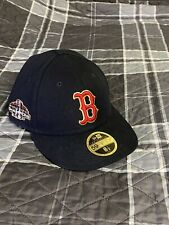 Boston Red Sox New Era 2018 MLB World Series Champions Gold Patch Hat 8 1/8
