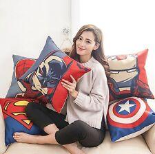 """18"""" Cotton Linen The Avengers Throw Pillow Case Cushion Cover Home sofa Decor"""