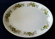 H Aynsley - Ironstone Serving Platter Showing Autumn Fruits