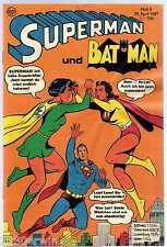 SUPERMAN und BATMAN 8 - 1967 / DC Comics Reprint 1998 / ungelesen
