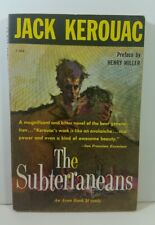 Subterraneans by Jack Kerouac 1959 Avon T-302 Paperback First Thus