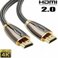 Premium HDMI Braided Cable V2.0 High Speed 4K Ultra HD – 1.5 Meter