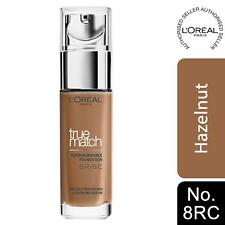 L'Oreal Paris True Match Super-Blendable Foundation 8RC Hazelnut SPF 17, 30ml