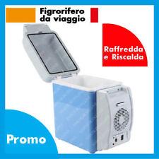 FRIGO 12V PORTATILE CALDO FREDDO 7,5 Litri AUTO CAMPER DA VIAGGIO FRIGORIFERO