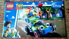 2010 LEGO INSTRUCTION MANUAL FROM SET #7590 TOY STORY BUZZ & WOODY TO THE RESCUE