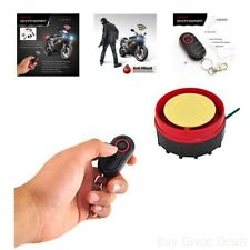 Pyle Waterproof Motorcycle Alarm System Bike Anti-Theft Security Burglar Alarm