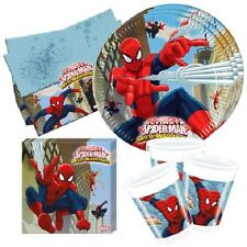 Marvel SPIDERMAN Boys Birthday Party Supplies Tableware and Decorations