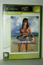 DEAD OR ALIVE XTREME BEACH VOLLEYBALL USATO XBOX EDIZIONE ITALIANA PAL GD1 42686