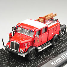 Atlas Collectibles 1 72 Metal Diecast Horch H3a Fire Truck Car Model Toy