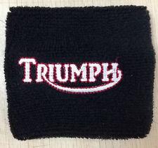 TRIUMPH RESERVOIR COVER WRISTBAND SOCK BLACK TRIUMPH BONNEVILLE TIGER ROCKET 675