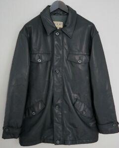 Men Vintage Joop Jacket Casual Collared Black Size Large ZPA306