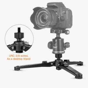 """Monopod Stand Base Three Feet Support Stand with 3/8""""Screw for Monopods Ballhead"""