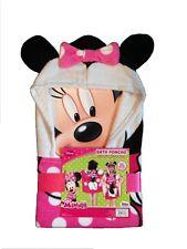 Disney Minnie Mouse Hooded Bath/Beach Poncho Towel , New, Free Shipping