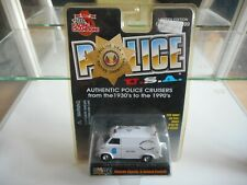 Racing Champions Police Chevy Van Dupage Animal Control in WHite on Blister