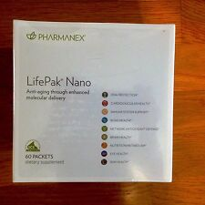 Nu Skin Pharmanex  Lifepak Nano, 60 packets,  Exp 07/19 new in Box