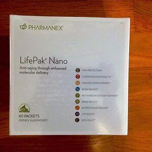 Nu Skin Pharmanex  Lifepak Nano, 60 packets,  Exp 03/2023 New
