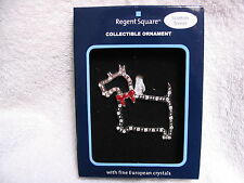 Regent Square Collectible Ornament Scottish Terrier - Pet Silhouette in Crystals