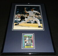 Kevin Brown Signed Framed 11x17 Photo Display Yankees