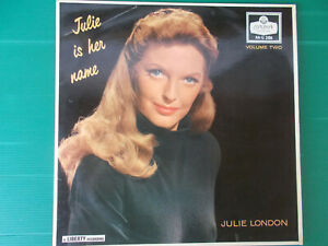 LP JULIE LONDON JULIE IS HER NAME VOLUME TWO ORIGINAL 1958 LONDON 2186
