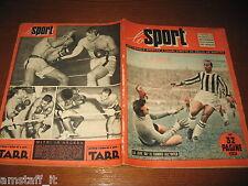 LO SPORT 1953/50=TIBERIO MITRI=JUVENTUS ROMA 3-0=INTER UDINESE=HOCKEY GHIACCIO=