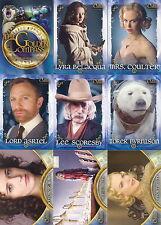 GOLDEN COMPASS MOVIE 2007 INKWORKS COMPLETE BASE CARD SET OF 72