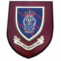 RAOC Wall Plaque Royal Army Ordnance Corps Regimental Mess Shield