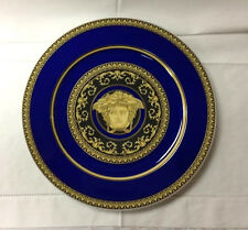 "VERSACE MEDUSA BLUE SERVICE PLATE 11 3/4"" BRAND NEW ROSENTHAL"